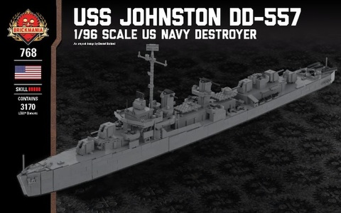 USS Johnston DD-557