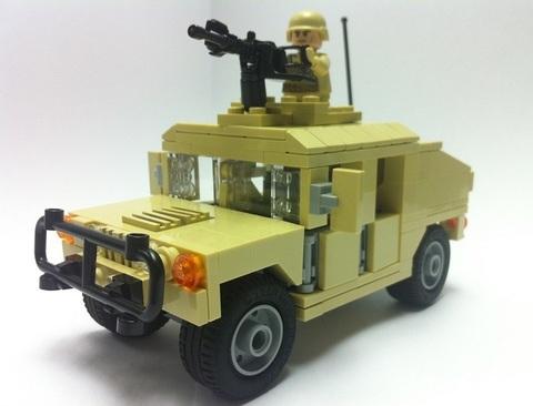 M1025A2ハンヴィー:米国海兵隊デザート仕様