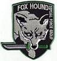 ベレー用FOXHOUND・ODパッチ メタルギア