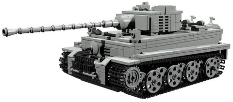 【PDF説明書データ】 VI号戦車ティーガーI E型