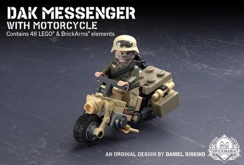 ドイツ軍 DAKメッセンジャー・バイク