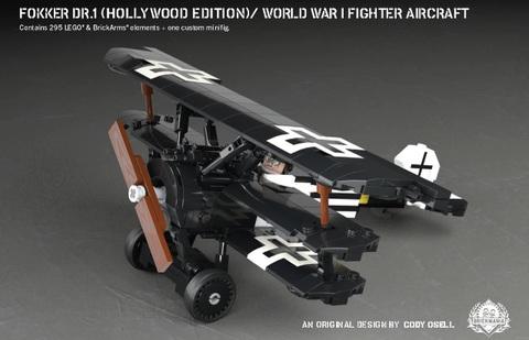 ドイツ軍 WWI フォッカーDr.1(ハリウッド・エディション)