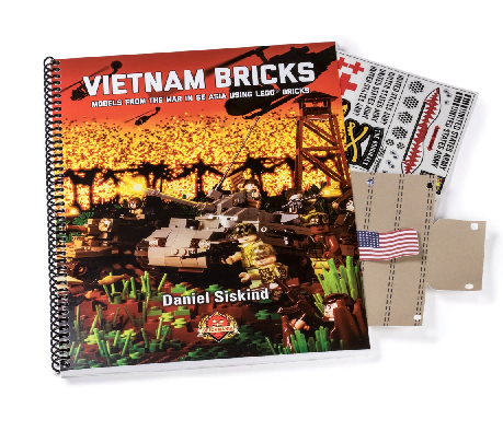 Vietnam Bricks: Models from the War in SE Asia-instruction book