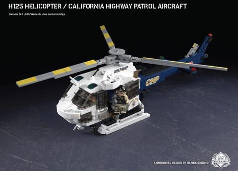 H125ヘリコプター/カルフォルニア ハイウェイパトロール