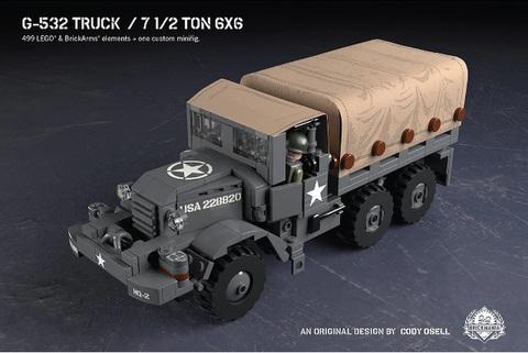 アメリカ軍 G-532 トラック - 7 1/2 Ton 6x6