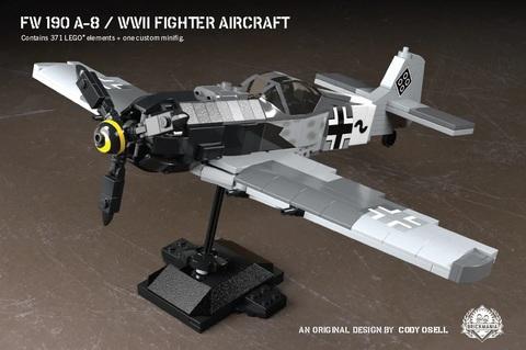 ドイツ軍 Fw190 A-8/WWII 戦闘機