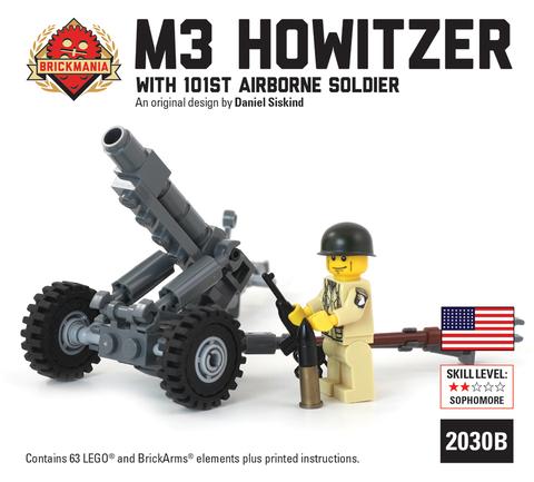 M3 105mmホウィッツァー+アメリカ軍101空挺隊員セット