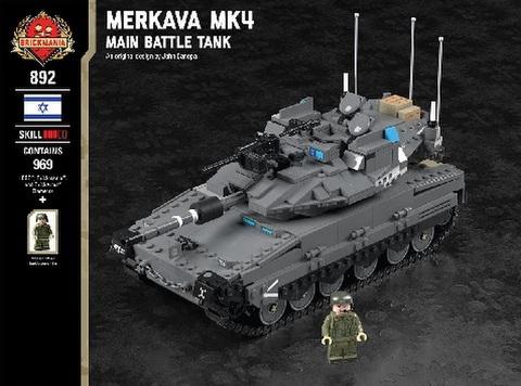 イスラエル軍メルカバMK4主力戦車