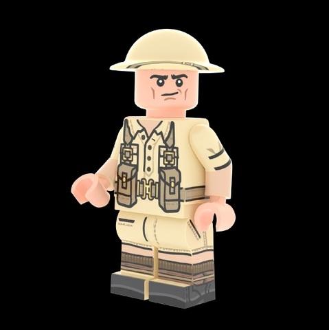 WWII イギリス軍 Desert Rat v2