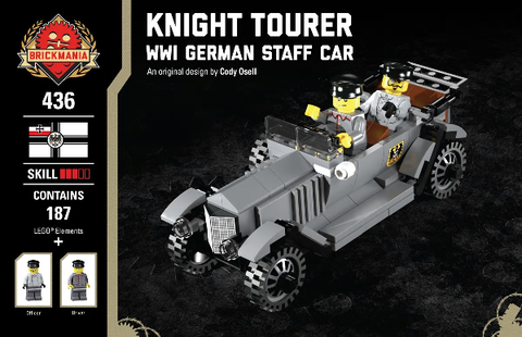 Knight Tourer-WWI German Staff Car