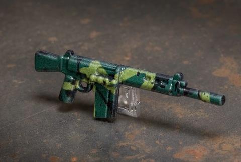パーフェクトキャリバー/NATO バトルライフル ローデシアン・カモ