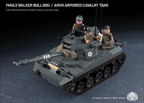 M41A3 Walker Bulldog - ARVN 装甲騎兵車