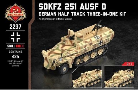 ドイツ軍SDKFZ 251Ausf D-ハーフ トラック スリー・イン・ワン