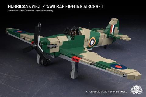 イギリス軍 ハリケーン Mk.1/WWII RAF 戦闘機