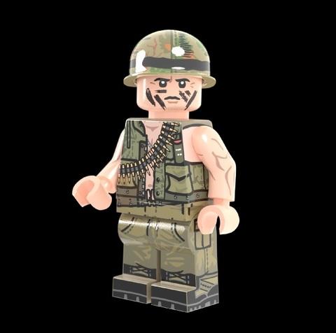 Vietnam War USMC マシンガンナー