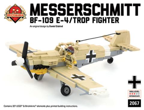 ドイツ軍BF-109 E-4メッサーシュミット トロペンタン仕様