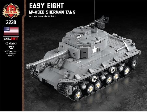 """アメリカ軍 M4A3E8(76)Wシャーマン """"イージー・エイト"""""""