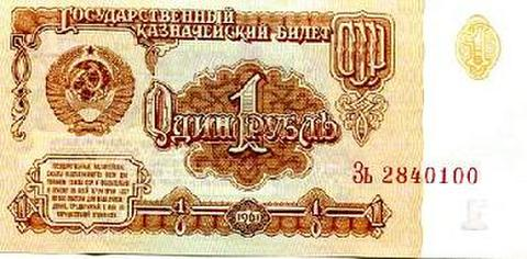 ソ連ルーブル