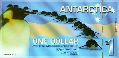 南極記念アメリカドル