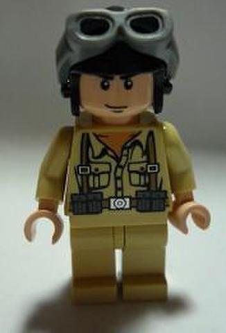 ドイツ兵(タンカースヘルメット)