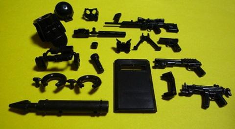 SWATアルファチーム装備セット (Z8303)