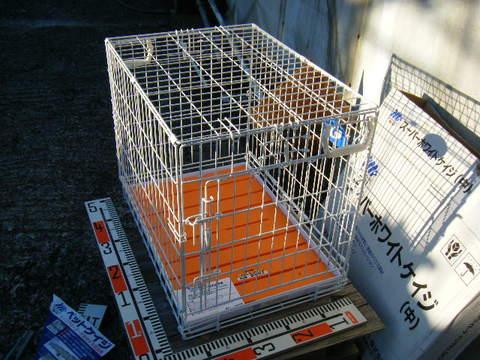 スーパーホワイトケージ(中)MR PET No.302 東京ペット株式会社。