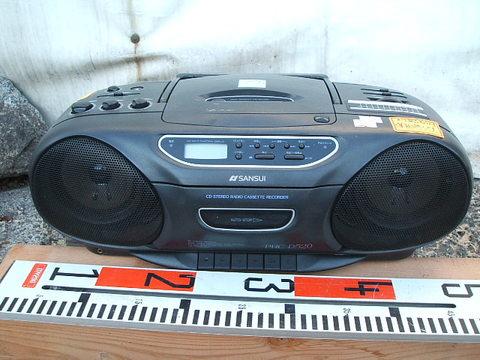 SANSUI CDラジオカセットレコーダーPRC-D520