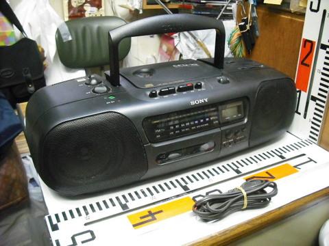 SONY CDラジオ カセット コーダー CFD-10