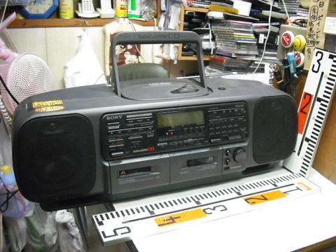 SONY CD WラジカセCFD-500
