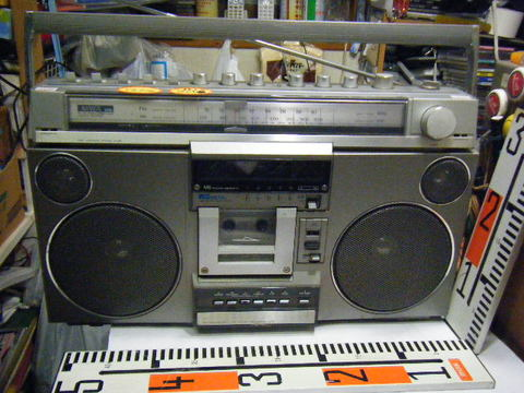 AIWA CS-75X  2BAND STEREO RADIO CASSETTE RECORDER