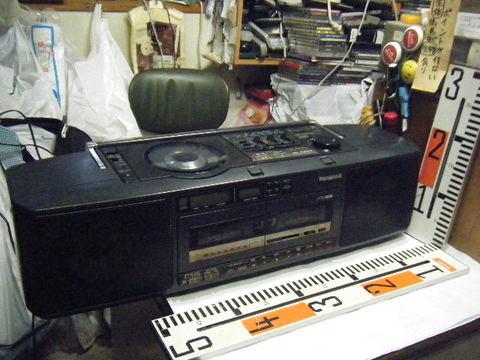 Panasonic RX-FD65 CDラジオWカセット