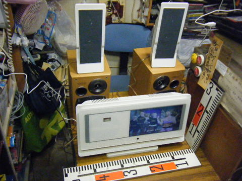 9インチ液晶モニター搭載・テレビ&DVD/CDコンポ FL-D9FSWH