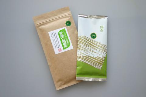 手造り栽培茶 竹100g×10
