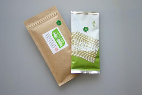 手造り栽培茶 梅100g×10