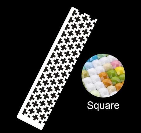 四角型定規(ハーフサイズ)ダイヤモンドアート