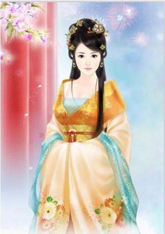 【5-31】A2 Squara 中国の美しい女性 ダイヤモンドアート