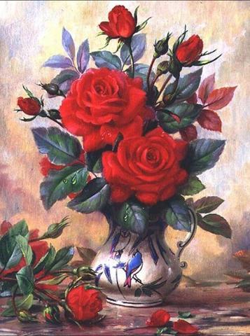 【d1094】赤いバラ