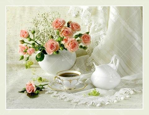 【2-6】バラの香に誘われてティータイム