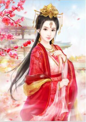 【5-30】A2 Squara 女官 王宮の女性 ダイヤモンドアート