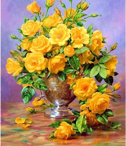 【2-4】飾ろう!西に黄色いバラの花