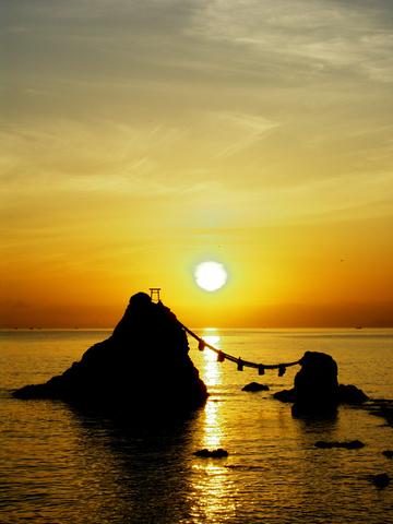 【d2005】A3夫婦岩の日の出