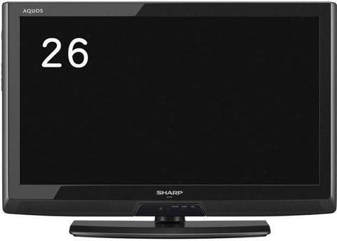 SHARP 26インチ液晶テレビ LC-26V7ブラック