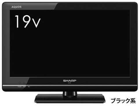 SHARP 19インチ液晶テレビ LC-19K7ブラック