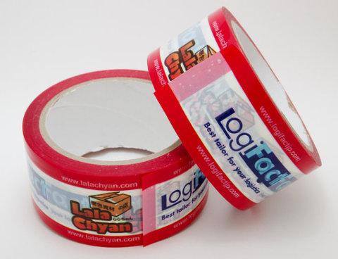 デジタル印刷OPPテープ「デジテープ」12mm×40m 100巻