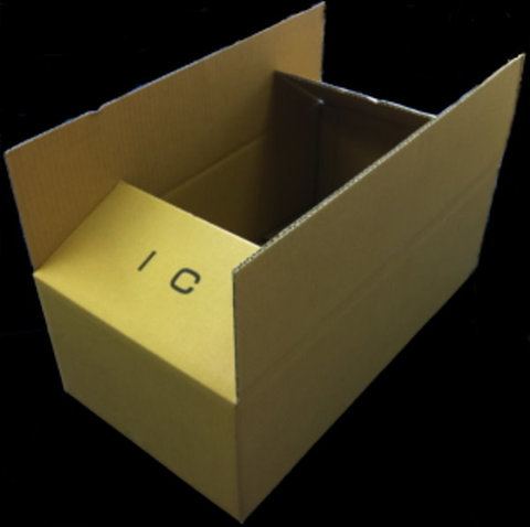 細長いシングルダンボール I-IC 宅配120サイズ