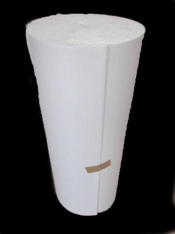 【法人・店舗向商品】白クラフト巻き段1000mm×50m