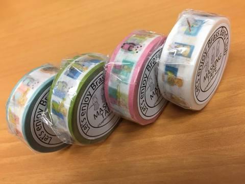 デジタル印刷マスキングテープ「マスキング・デジテープ」ダブルカットオプションサービス