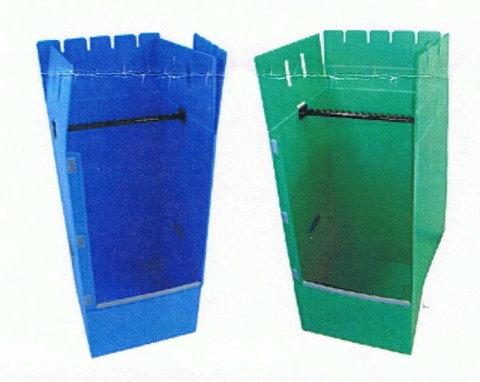 【法人・店舗向商品】プラ段ハンガーボックス 5枚パック