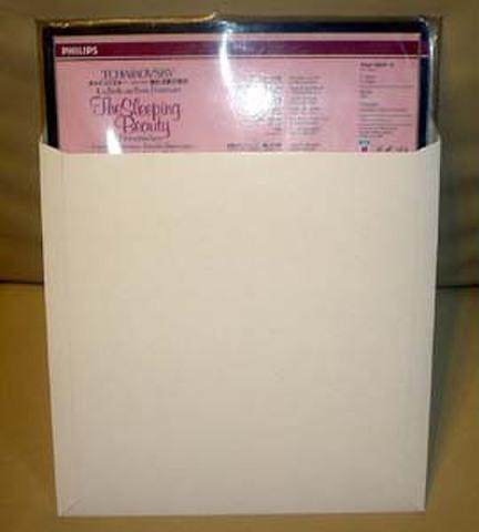 厚紙封筒「ラクソーメーラー」LPサイズ 25枚パック