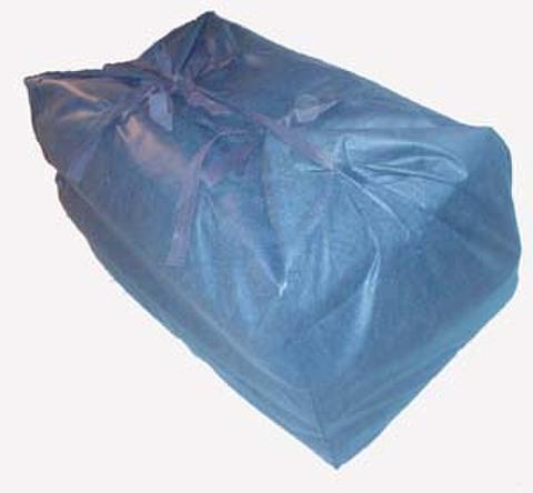 不織布ブルー布団袋